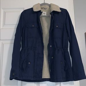 Gap Fur Utility Jacket